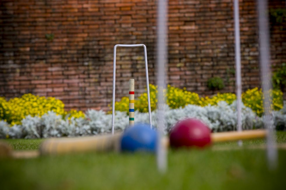Croquet lawn at New Place Hotel - Hampshire