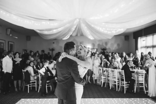 First Wedding Dance Black & White