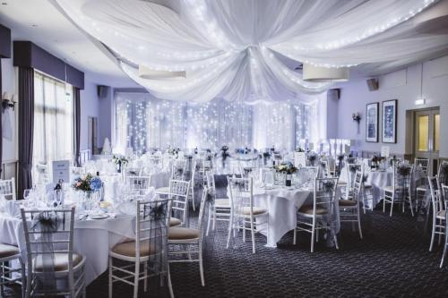 Arden Suite Wedding Setup